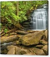 Long Creek Falls Canvas Print