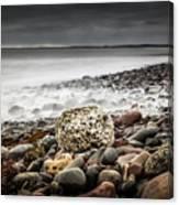 Long Exposure At Lawrencetown Beach, Nova Scotia Canvas Print