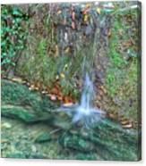 Long Exposure Waterfall Canvas Print