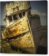 Long Forgotten Boat Canvas Print
