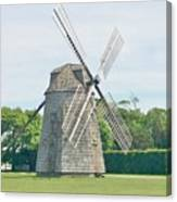 Long Island Wind Mill Canvas Print