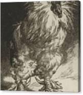 Long Live The Tzar Vive Le Tzar Felix Bracquemond 1833 - 1914 Canvas Print