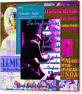 Long Purple Road To Elemental Canvas Print
