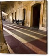 Long Shadows In San Cristobal Canvas Print