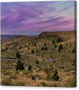 Long Winding Road In Central Oregon Canvas Print