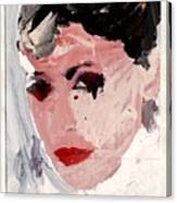 Longer Lashes Canvas Print