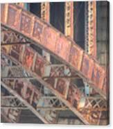 Longfellow Bridge Arches IIi Canvas Print