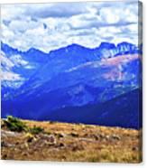 Longs Peak Rocky Mountain National Park Canvas Print