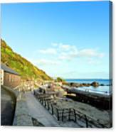Looe Boathouse Canvas Print