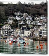 Looe Harbour - Cornwall Canvas Print