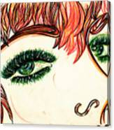 Look At Me Canvas Print