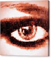 Look Into My Eye Canvas Print