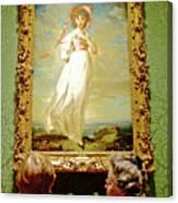 Looking At Pinkie In Huntington European Art Museum  In San Marino-california  Canvas Print
