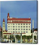 Looking Back At St Augustine Canvas Print