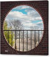 Looking Brick Canvas Print