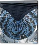 Looking Down The Reichstag Berlin Canvas Print