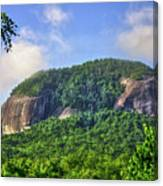 Looking Glass Rock Close Up Canvas Print