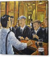 Looking In The Pub Canvas Print
