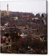 Looking North From  Lafayette And Summit. Canvas Print
