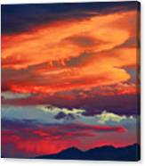 Looking To Boulder Canvas Print