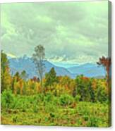 Looking To The Mountains Canvas Print
