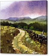Looking Towards Pole Moor Canvas Print