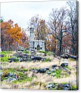 Looking Towards The Top Of Little Round Top Canvas Print