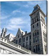 Looking Up At Old City Hall Canvas Print