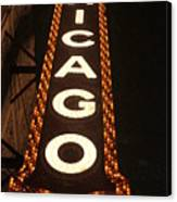Looking Up Chicago Canvas Print