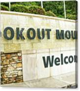 Lookout Mountain Canvas Print