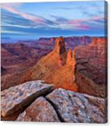 Lookout Point Sunrise Canvas Print