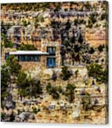 Lookout Studio @ Grand Canyon Canvas Print
