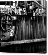 Loom With Prayer Cards Canvas Print