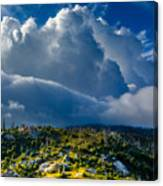 Looming Storm Clouds Canvas Print