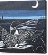 Loon Canvas Print