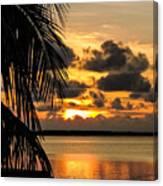 Lopez Point Sunset Canvas Print