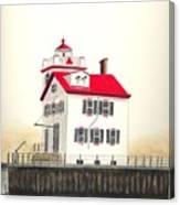 Lorain Lighthouse Canvas Print