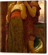Lord Frederic Leighton - Wedded Canvas Print