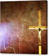 Lord Have Mercy - Crucifixion Of Jesus -2011 Canvas Print