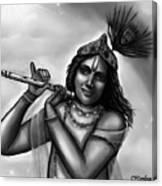 Lord Krishna Canvas Print