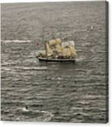 Lord Nelson Enters Sydney Harbour Canvas Print