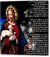 Lord Of The 23rd Psalm Canvas Print
