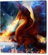 Lord Of The Celestial Dragons Canvas Print