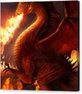 Lord Of The Dragons Canvas Print