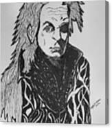 Lord Vampire Canvas Print