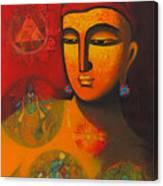 Lord Vishnu Canvas Print