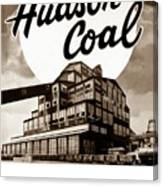 Loree Colliery Larksville Pa. Hudson Coal Co  Canvas Print