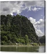Loreley Rock 10 Canvas Print