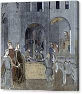 Lorenzetti: Good Govt Canvas Print