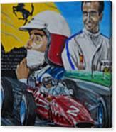 Lorenzo E Ferrari. La Passione Del Tifosi Canvas Print